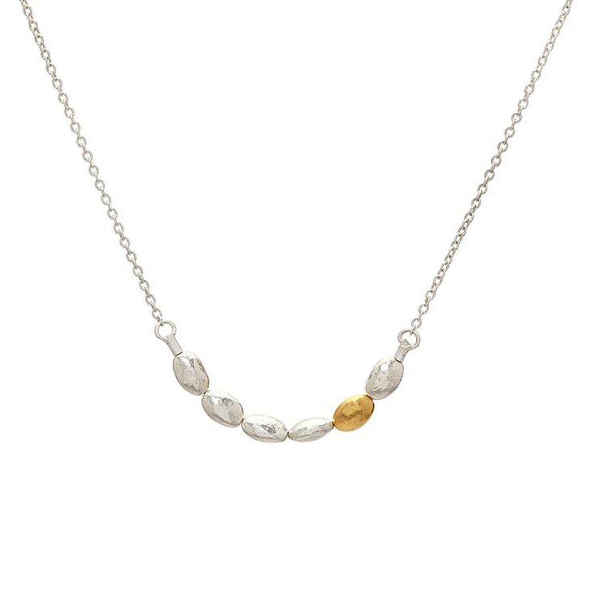 K gold nugget necklace schnngxxsgbos gurhan sterling