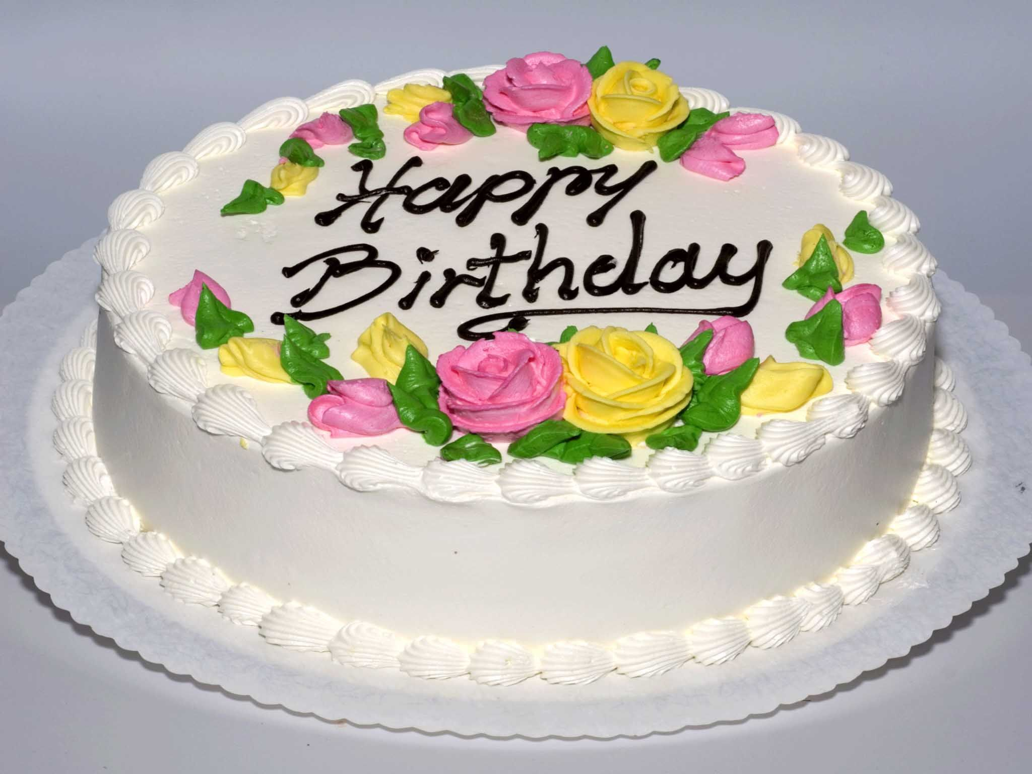 Happy Birthdbay Cake Images Morning Greetings Quotes Pinterest