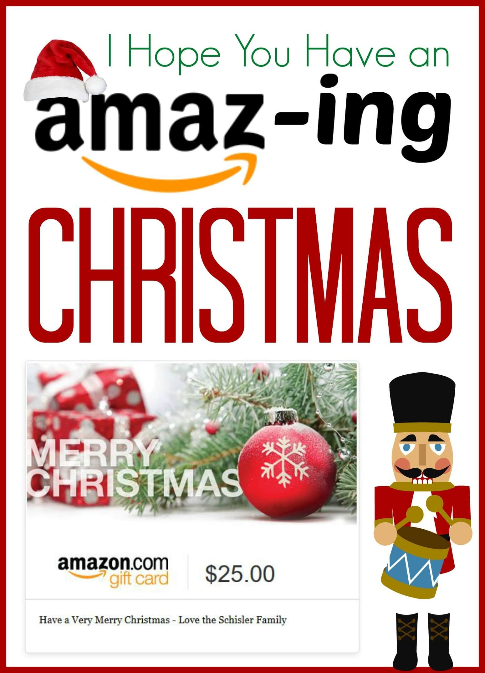 Amazing Christmas Ideas For Amazon Last Minute Gift Ideas For Anyone On Your List Amazon Gift Card Free Diy Gift Card Amazon Gift Cards