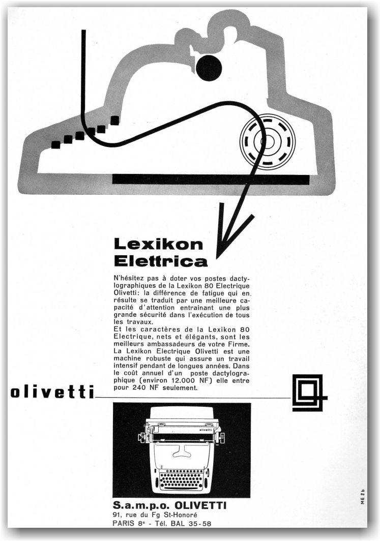Olivetti Lexicon Elettrica