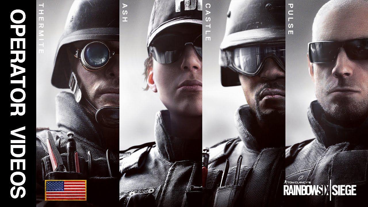 Rainbow Six Siege All Fbi Swat Operator Videos Thermite Ash