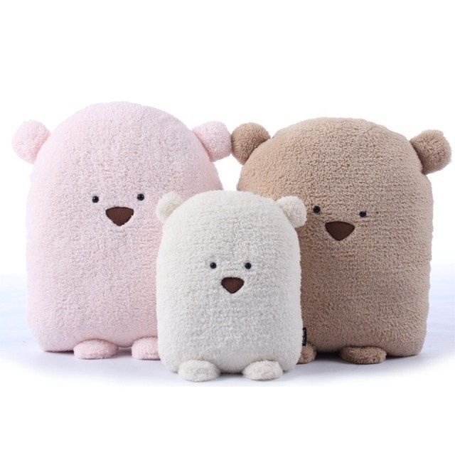 Details about cute fat bear plush toy cushion hand warm soft lovely doudou bear birthday gift #bearbedpillowdolls