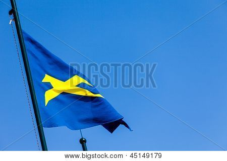 New stock photo available for sale at BigStockPhoto: Blue Flag