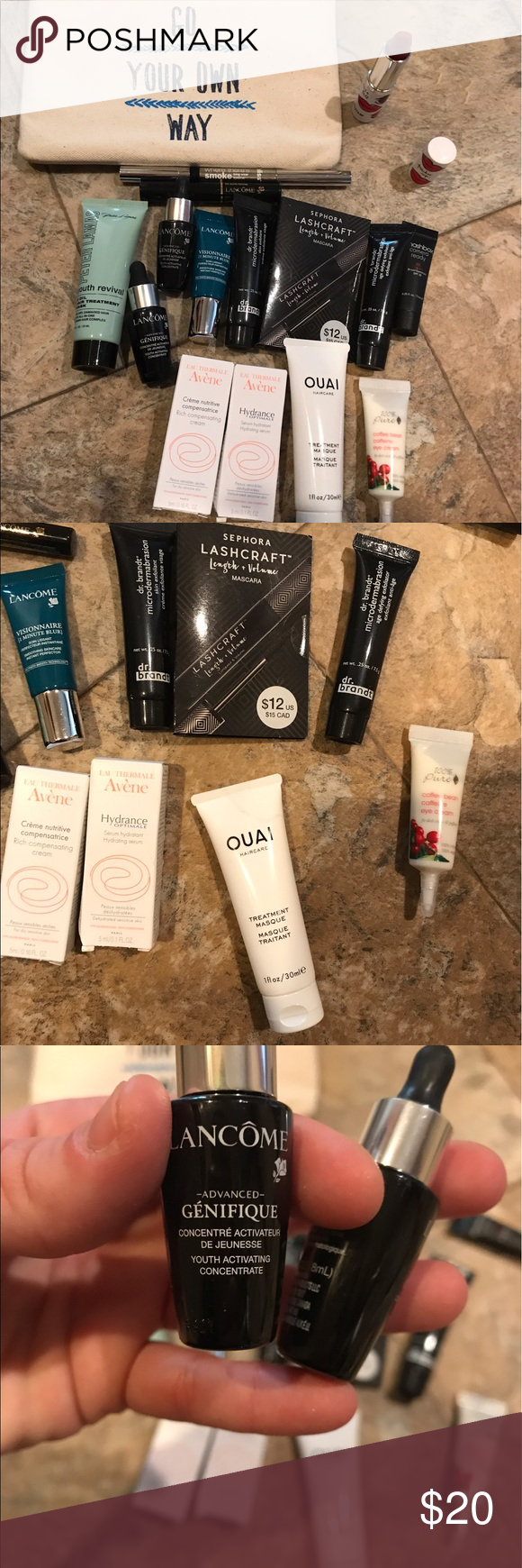 Sephora makeup sample set nwt Sephora makeup sample set