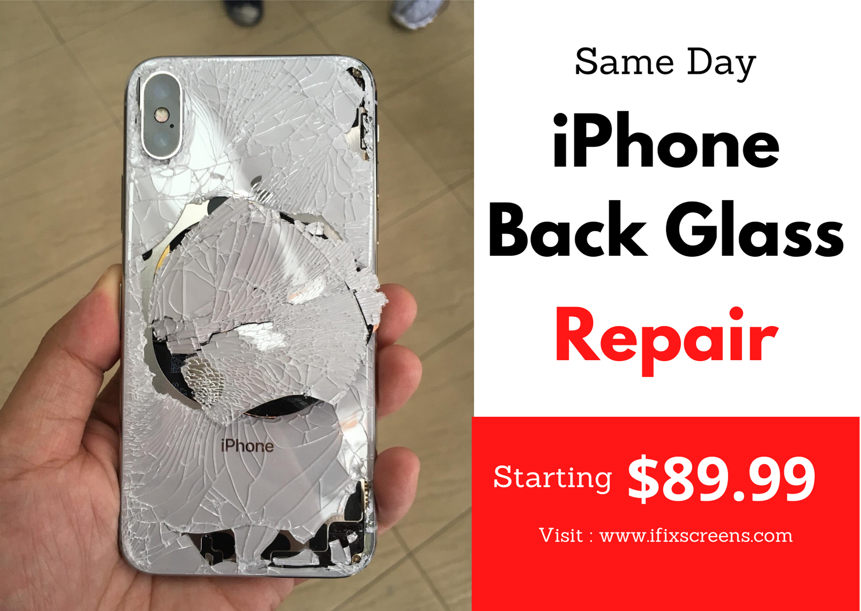Same Day Iphone Back Glass Replacement Original Quality With Best Prices Starting At Just Usd 89 99 Contact Us Now Www Ifi In 2020 Glass Repair Tablet Laptop