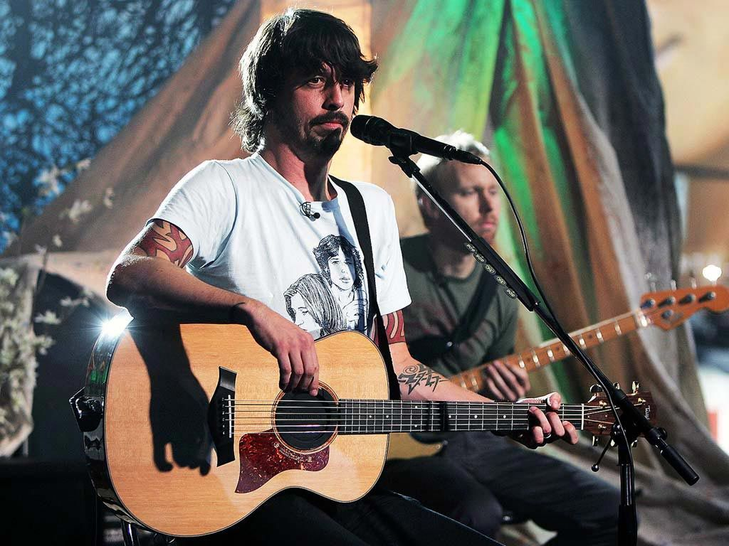 Desktop Backgrounds Celebrities Music Foo Fighters American Rock Band
