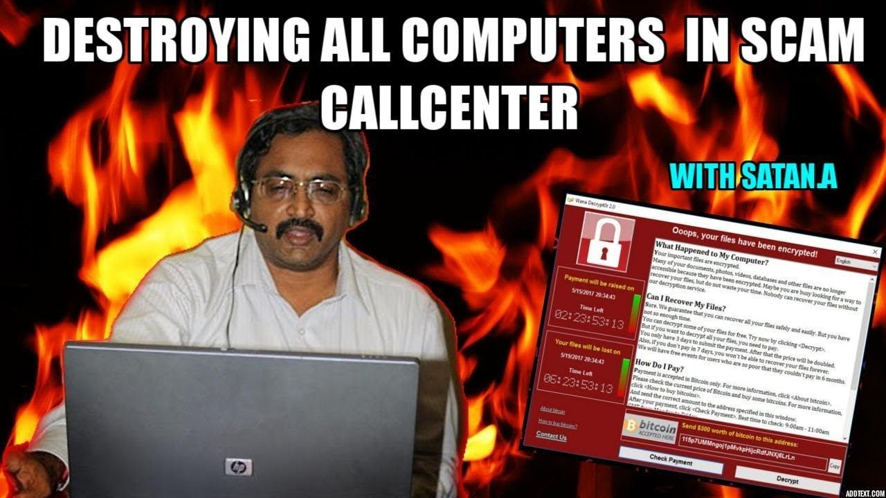 Destroying All Computers On Scammers Network (With images