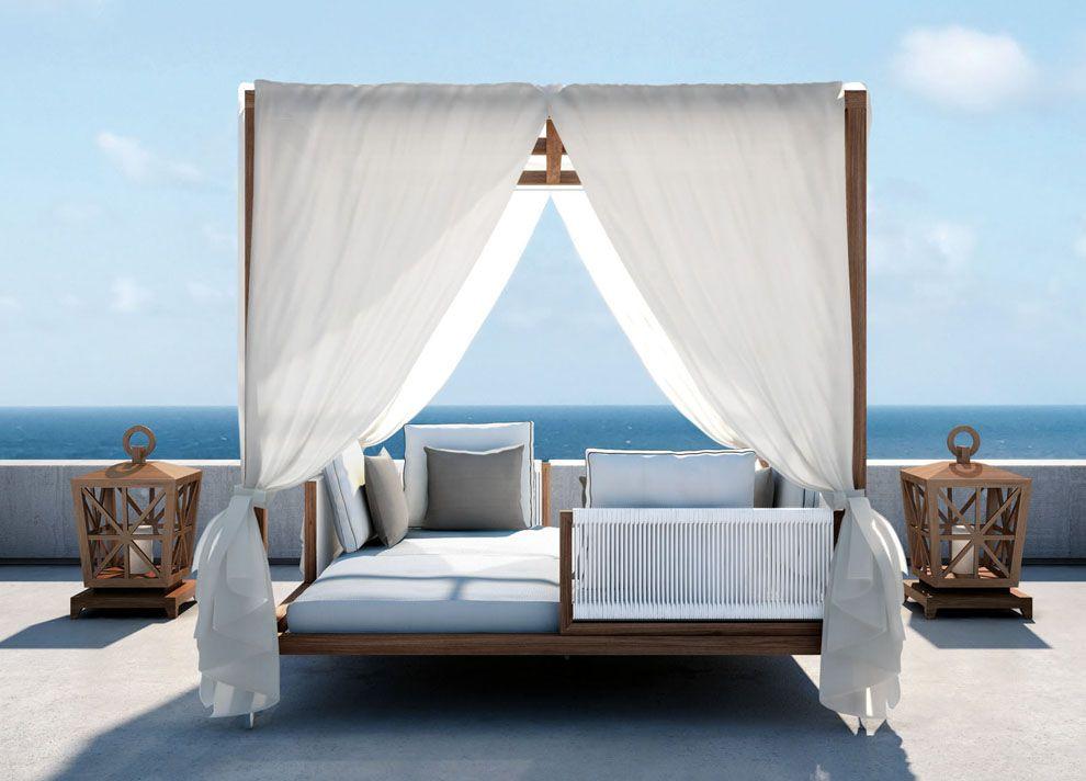 Smania-Amalfi-day-bed-gazebo.jpg (990×712) | Favorite Places ...