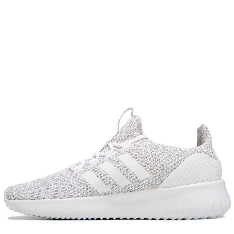 Adidas Men s Neo Cloudfoam Ultimate Sneakers (Grey White) cb63ec968