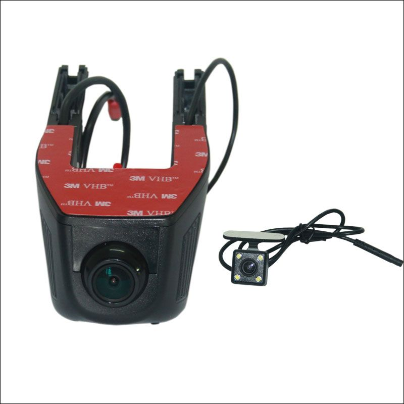 For KIA K3 APP Control Car Wifi DVR Dual lens wide angle Dash Cam Car Black Box Hidden installation Novatek 96658 g-sensor
