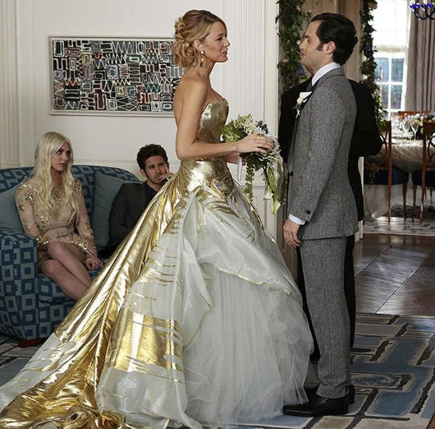Gossip Girl : Serena (Blake Likely) avait épousé Dan (Penn Badgley)