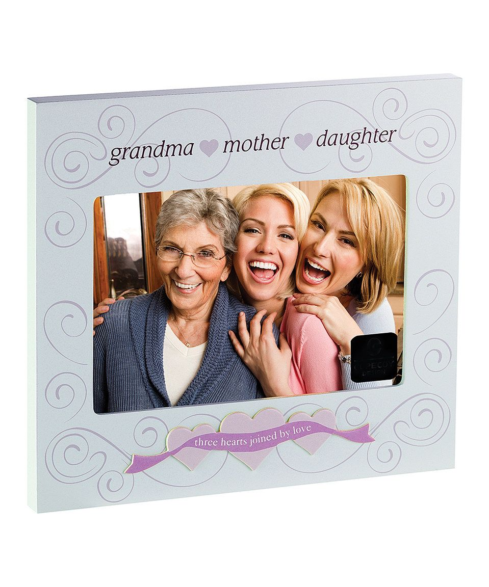 Love this Beige \'Grandma Mother Daughter\' Frame by Cupecoy Design on ...