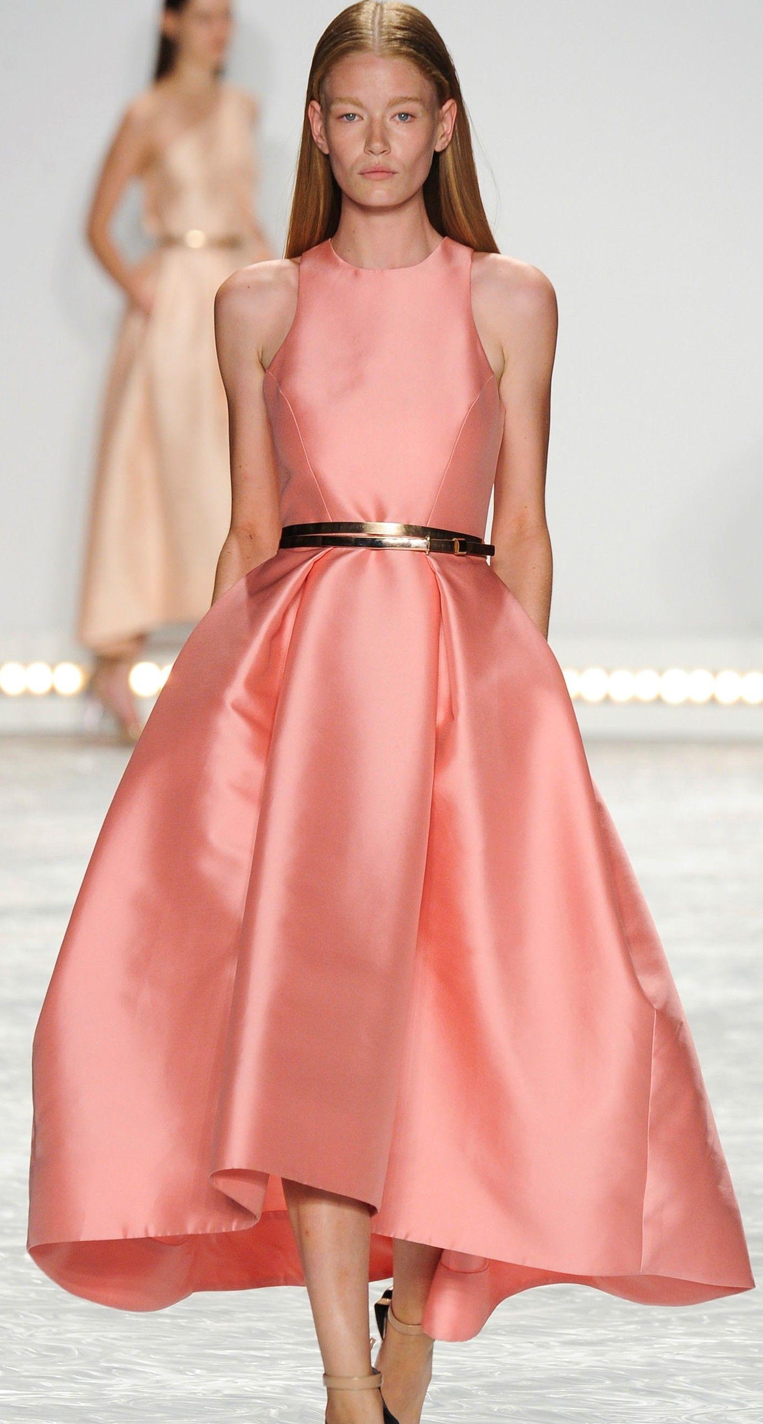 Monique Lhuillier Spring 2015 | Vestido | Pinterest | Desfiles y ...