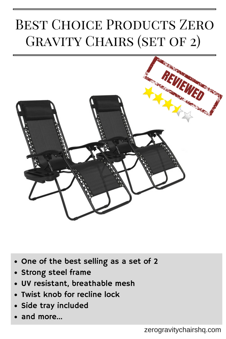 Furniture amp accessories 26 quot camo padded folding anti gravity chair -  Review Best Choice Products Zero Gravity Chairs Set Of 2 One
