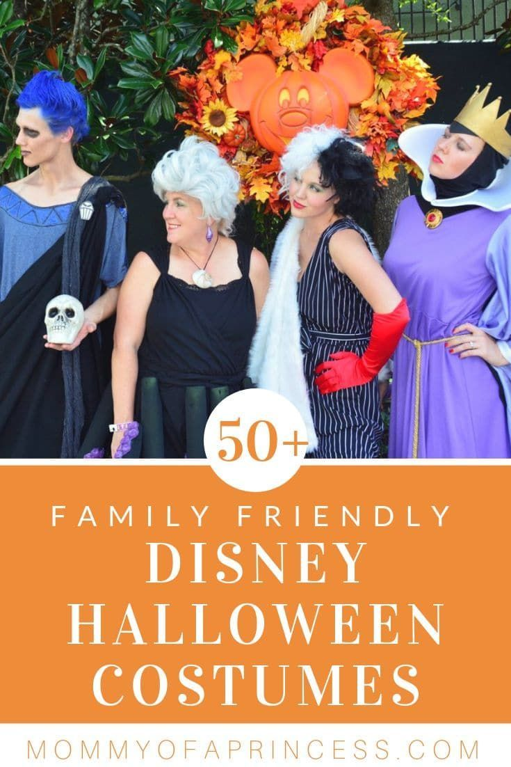 Looking for the perfect family costumes? Get ready for Mickey's Not So Scary Halloween Party with these 51+ Disney Family Halloween Costume Ideas. #familycostumeideas