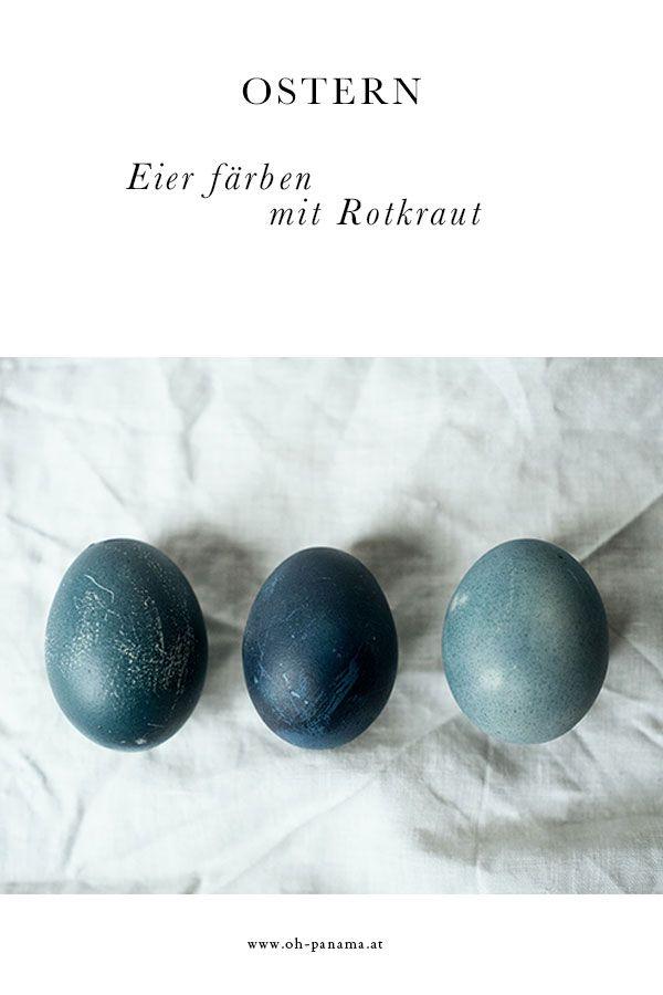 Farbe aus dem Küchenschrank, Teil 1: Heuer machen die Eier blau ...