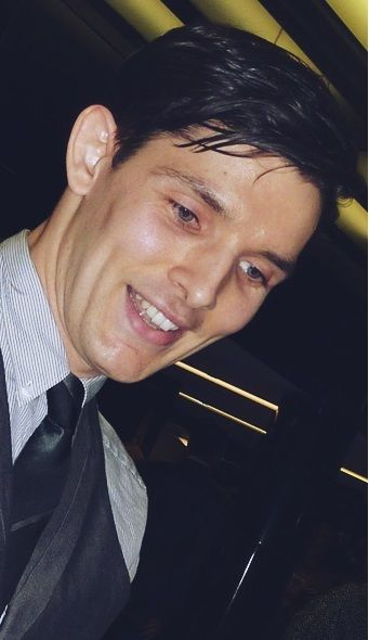 Do you see? He's always smiling when not in character. Cloud Atlas premiere in London Feb. 2013