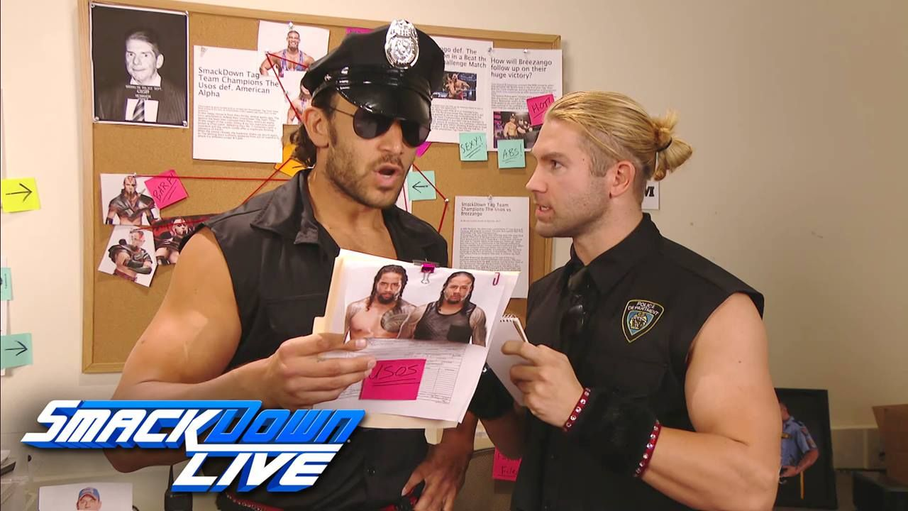 There S Just Too Much Evidence On Wwe Smackdown Live Jimmy