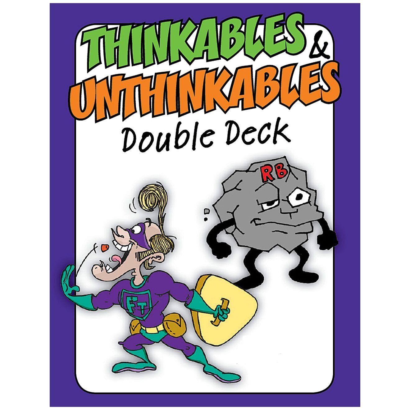 The Thinkables Amp Unthinkables Double Deck