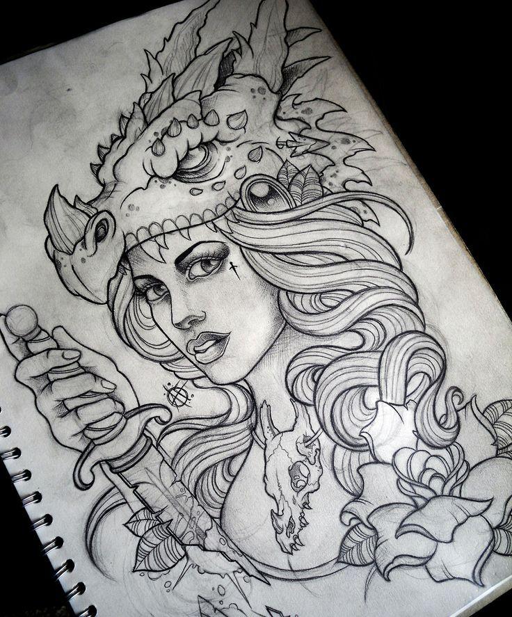 Resultado De Imagem Para Drawing Tattoo Tumblr Art Pinterest