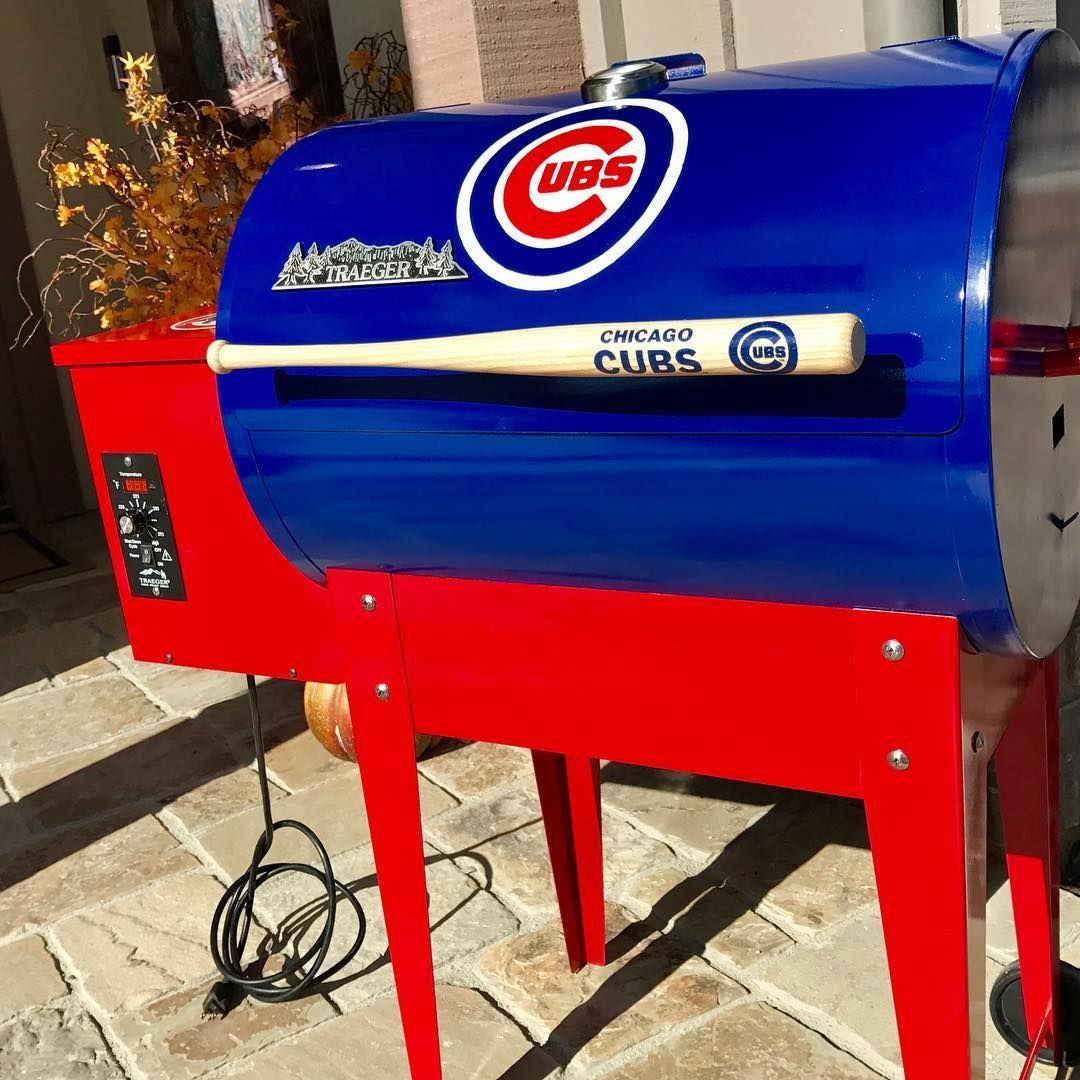 i finished my traeger junior mod stripped painted etc all myself last week just in time to celebrate the cubs win fun project and will cherish the  [ 1080 x 1080 Pixel ]
