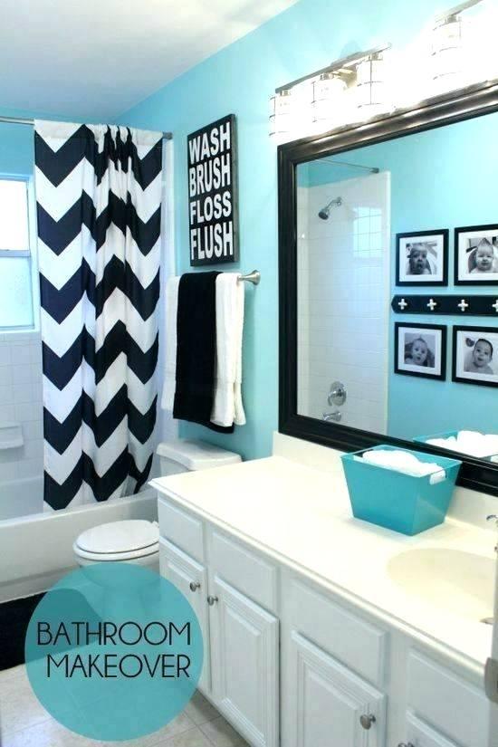 teenage girl small bathroom ideas - eatweb.info | Teal ...