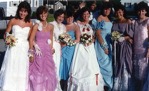 1980s Prom By Mall Of America Via Flickr 80s Prom Dress 1980s Prom 80s Prom