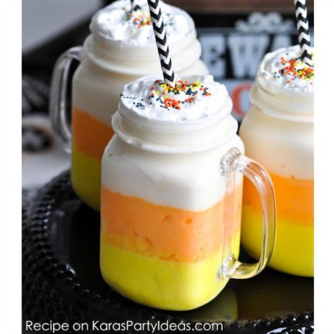 31 Candy Corn-Inspired Desserts That Are Better Than The Actual - halloween treat ideas