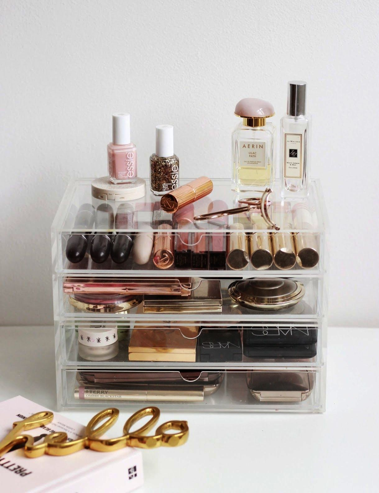 Muji Makeup Organizer Entrancing A Muji Makeup Storage Overhaul  Pint Sized Beauty  Interior Design Ideas