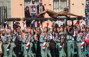 De La Legión La Legion La Legion Española Cristo De Mena