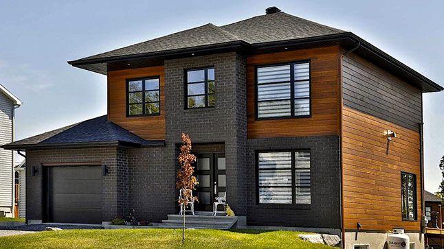 Guide du0027achat Revêtements extérieurs House, Architecture and - modeles de maison a construire