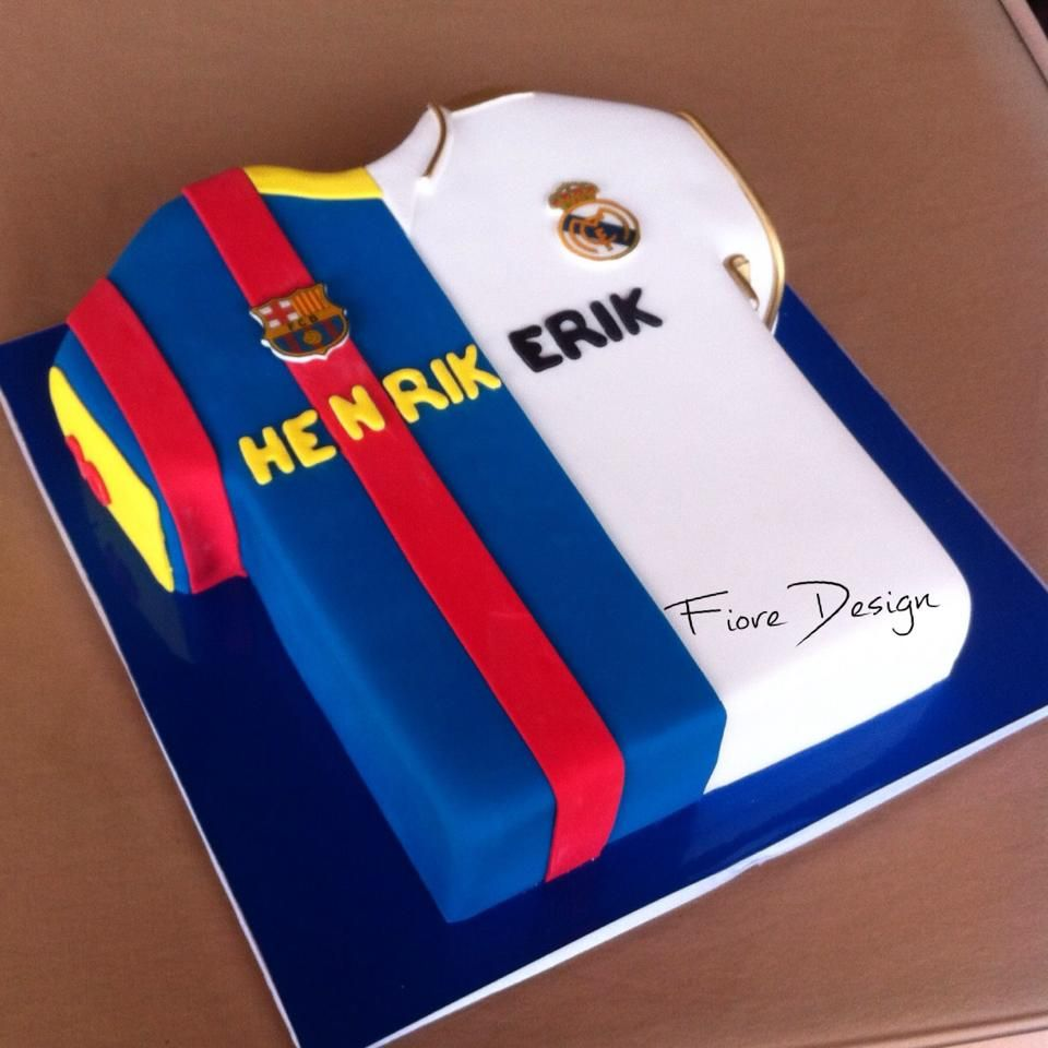 fc2341ba8 Real Madrid or Barcelona !?! Fans cake | Our cakes! in 2019 | Real ...