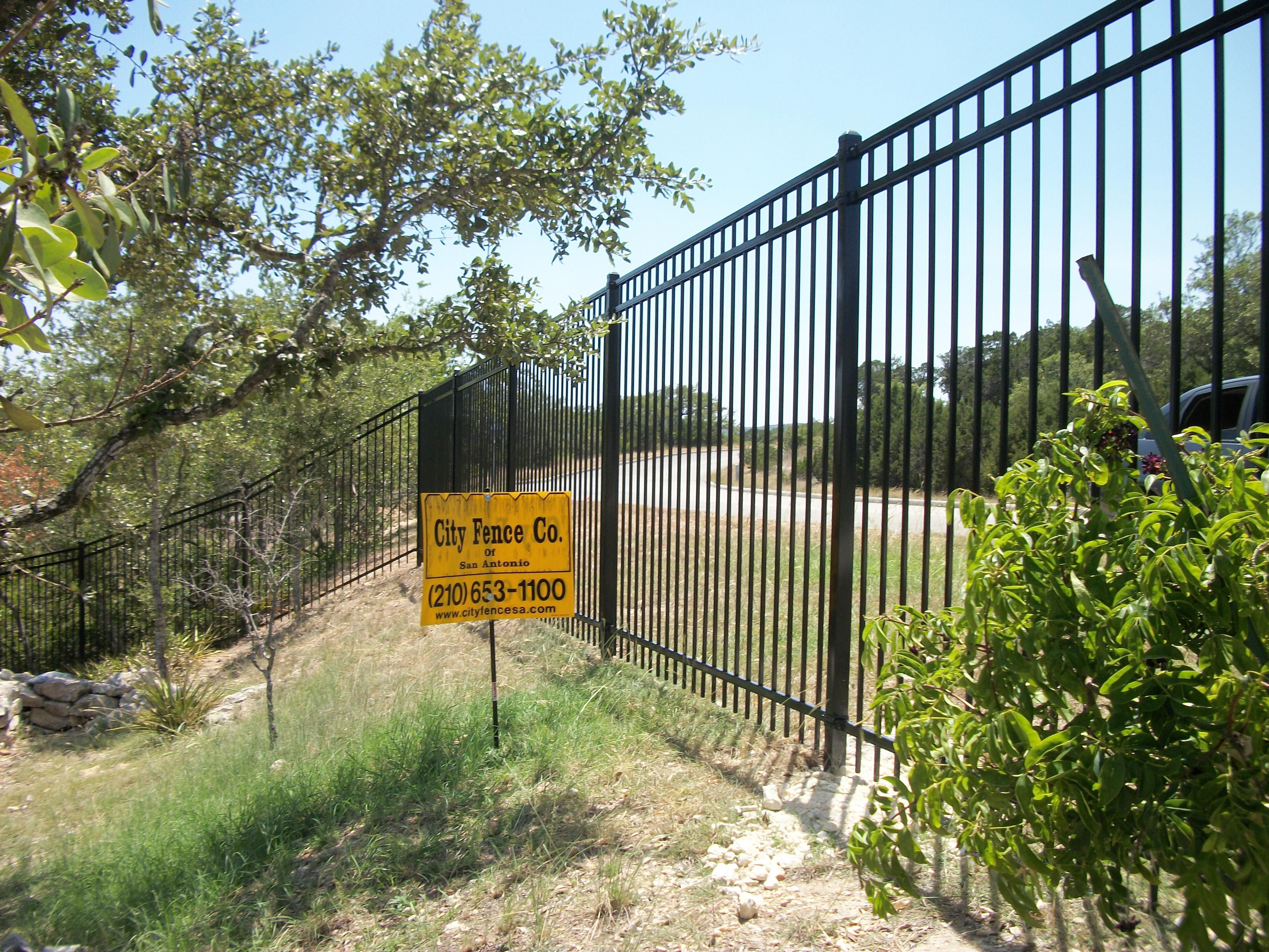 6 Tall Ornamental Iron City Fence Co Of San Antonio