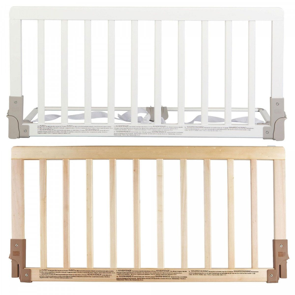 Baby Dan Wooden Bedrail Proof Bed Guard Safety