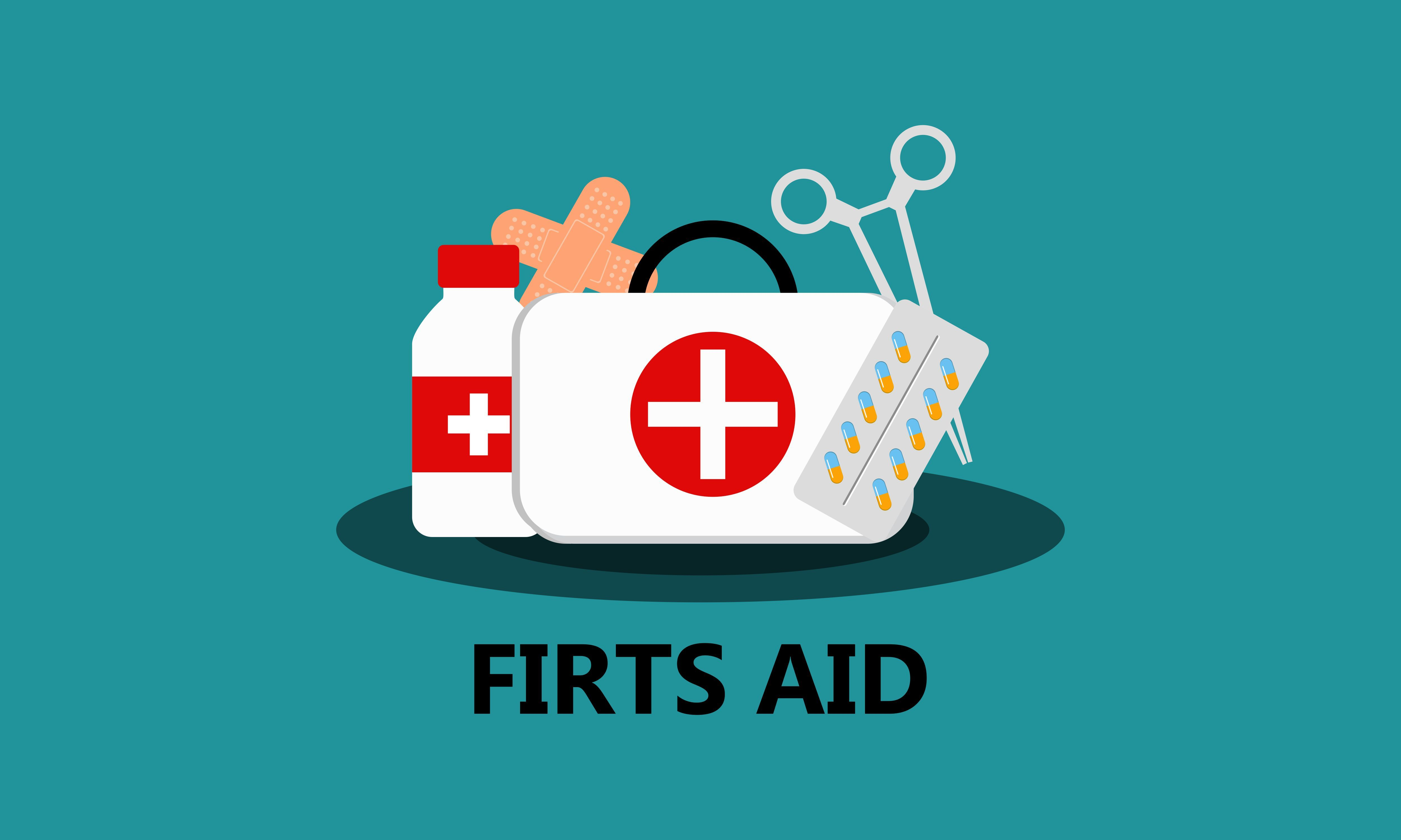 First Aid Kit Supply Emergency Medical Graphic By 2qnah Creative Fabrica First Aid Kit Supplies First Aid Kit Emergency Medical