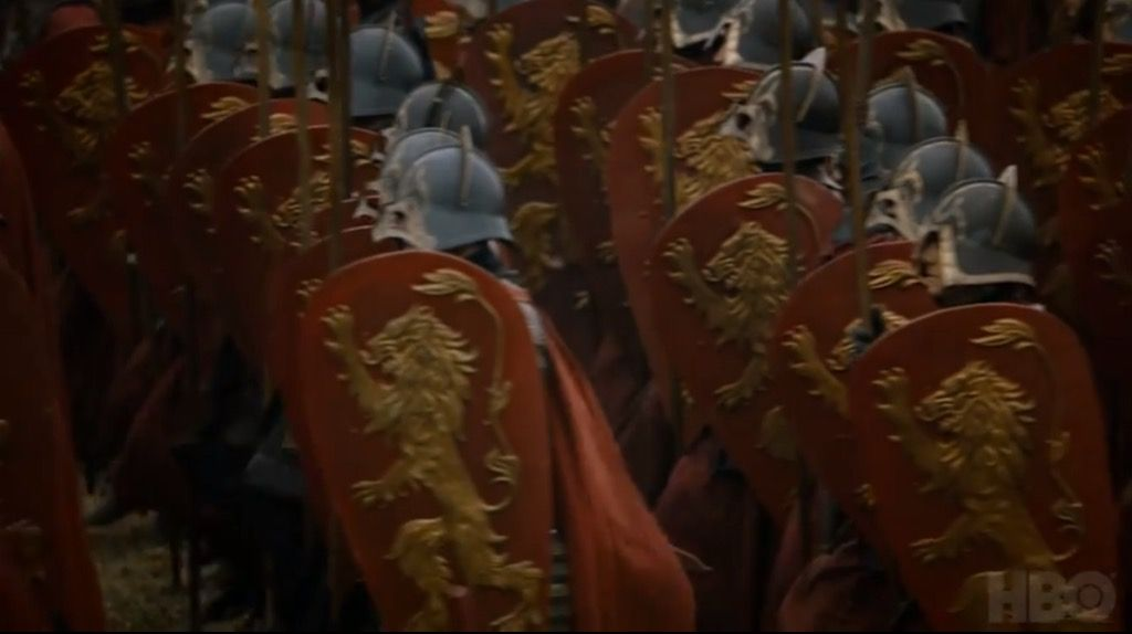 Lannister Army Game Of Thrones Trailer Lannister Aesthetic Game Of Thrones