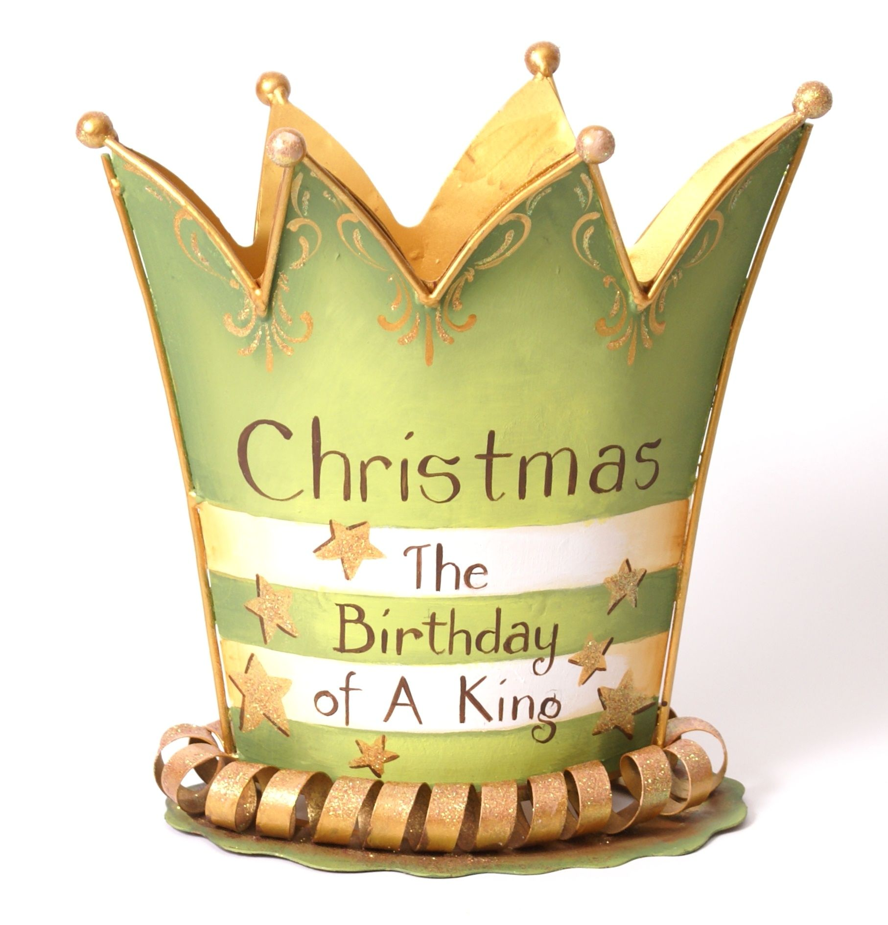 crown The Round Top Collection Happy birthday jesus