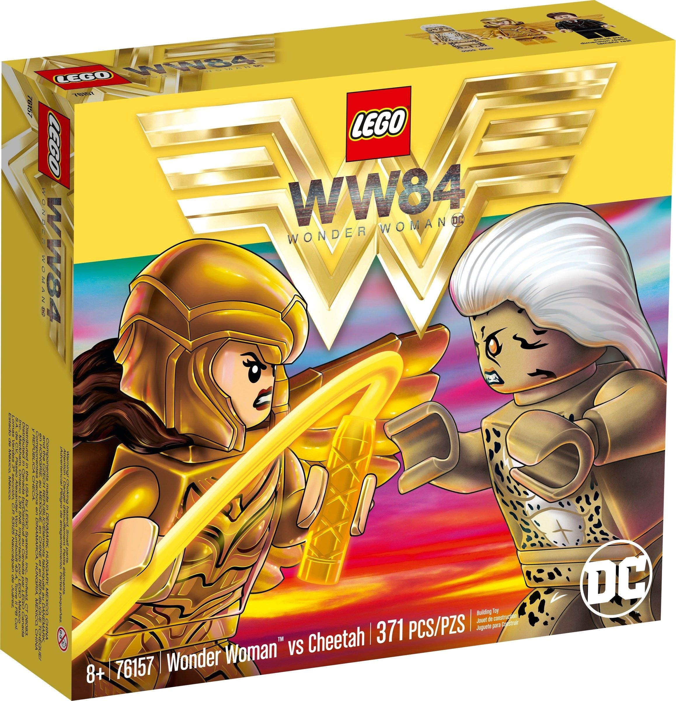 Lego 76157 1 Wonder Woman Vs Cheetah In 2020 Lego Dc Wonder Woman Vs Cheetah Lego Wonder Woman