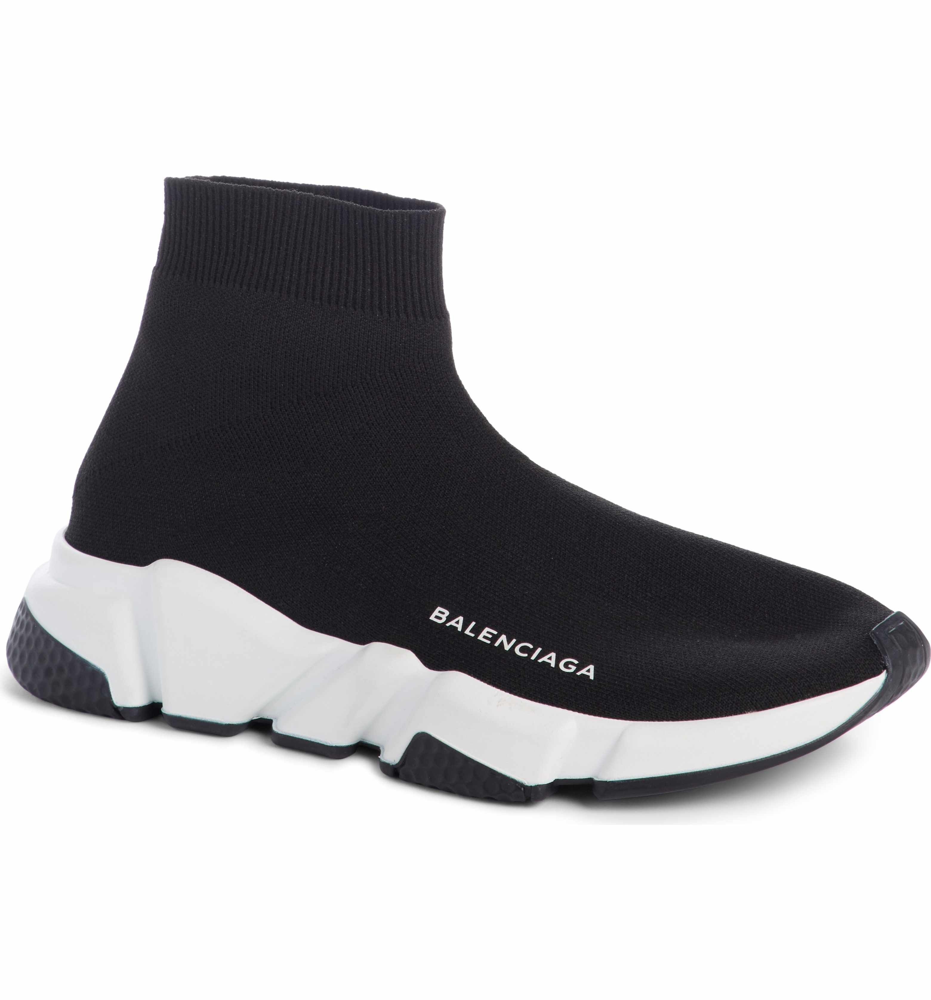 798802cc82 Main Image - Balenciaga Speed High Slip-On (Men)