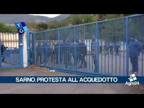 Sarno portesta Acquedotto Rio Palazzo