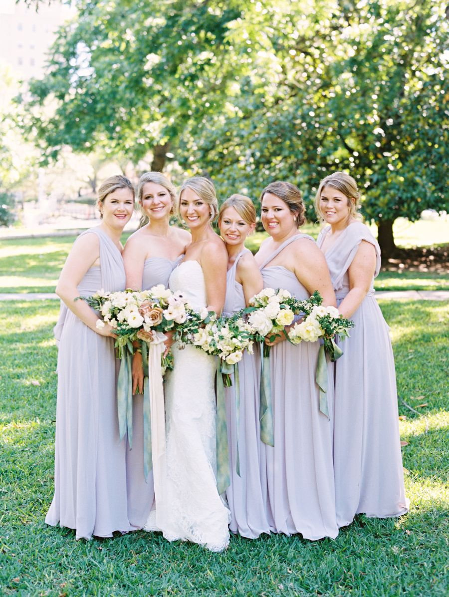 94b73c10c7ba Jenny Yoo Bridesmaids, Long Luxe Chiffon convertible 'Mira' Dress in a  gorgeous shade of light purple. This Bridal Party Dress with detachable  straps is ...