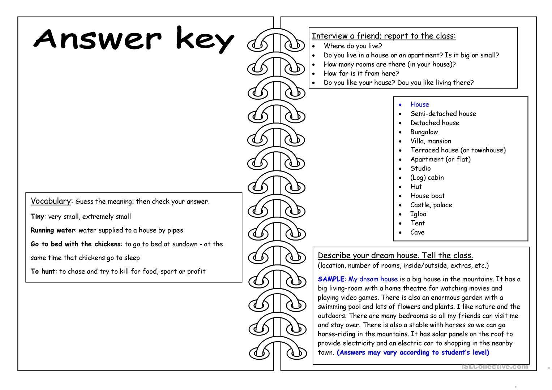 Four Skills Worksheet