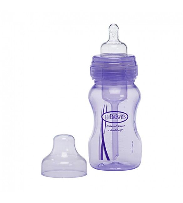 8oz Wide Neck Purple Baby Bottle By Dr Brown S Baby Bottles Purple Baby Purple Bottle