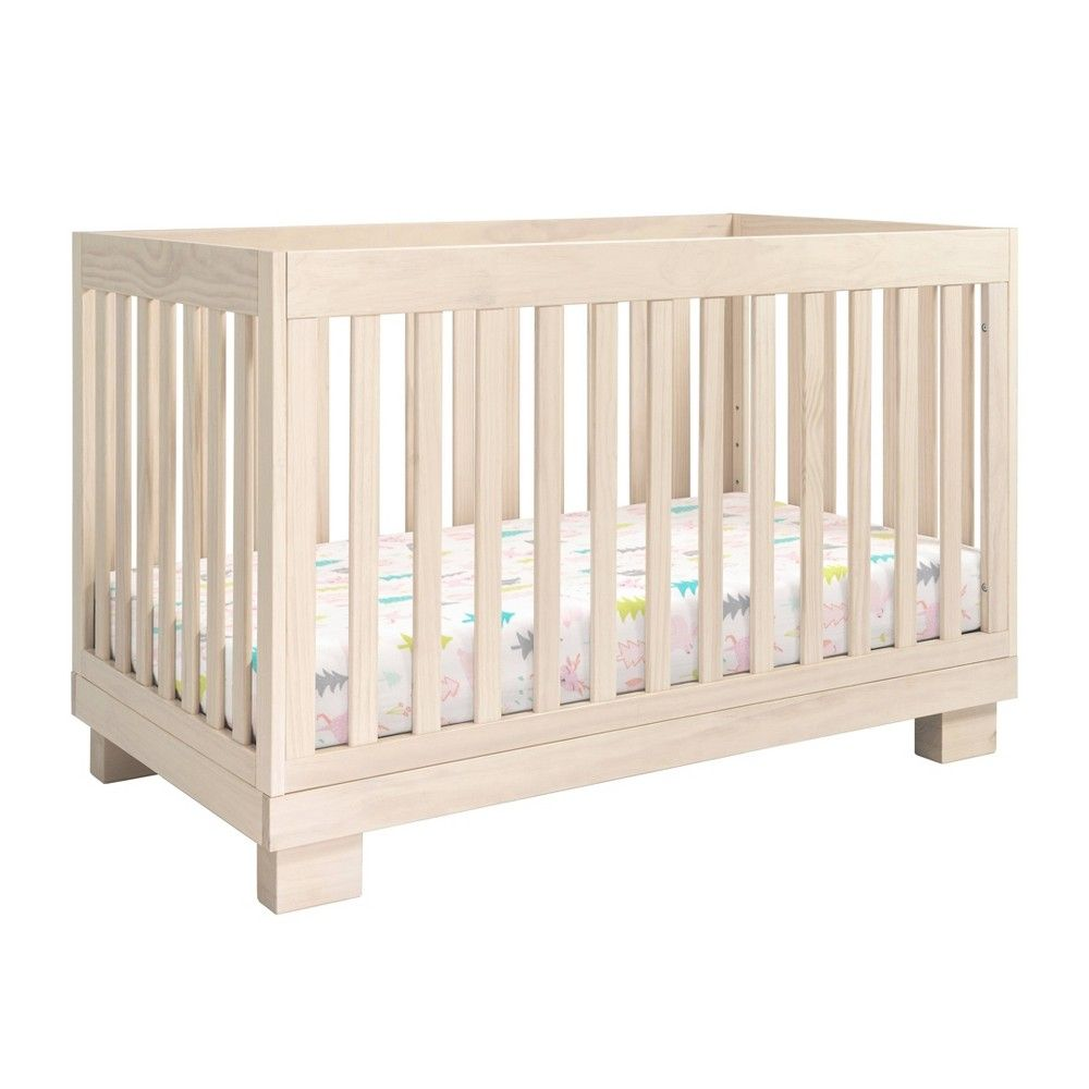 Babyletto Modo 3 In 1 Convertible Crib Natural Washed Natural
