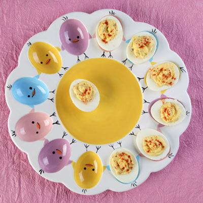 cool deviled egg dish duncan bisque and glazes pyop
