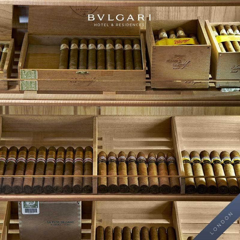Cohiba Seleccion Reserva 2003 Esplendido, at the Edward Sahakian Cigar Shop. #bulgarihotel #cigars