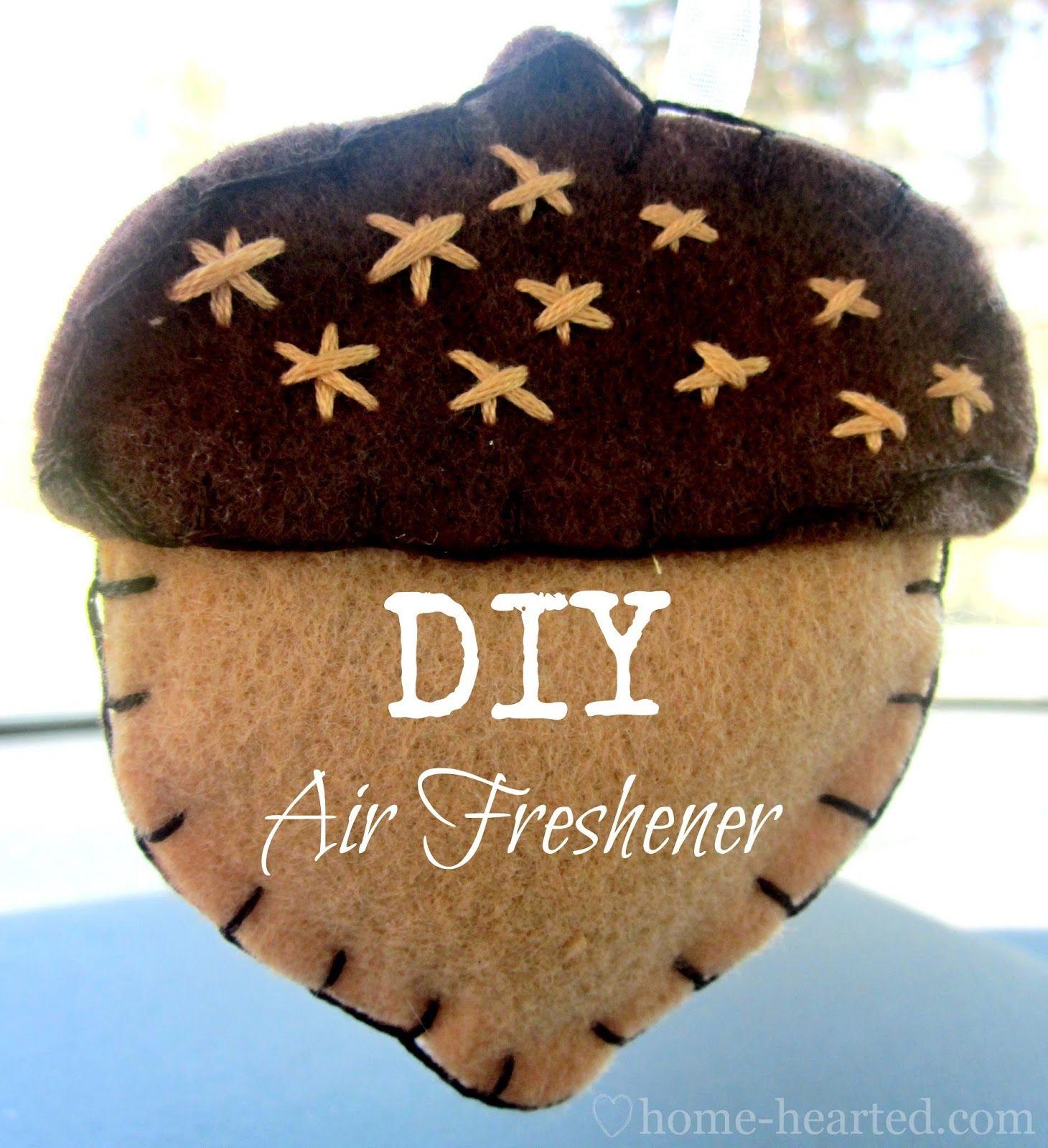 DIY Felt Car Air Freshener Felt diy, Air freshener, Car