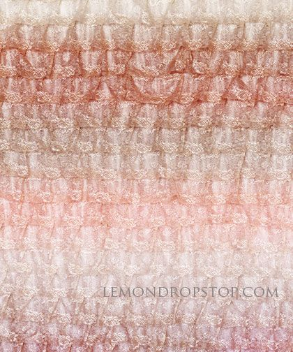 Ombre Lace by Lemondrop Stop, LOVE this!