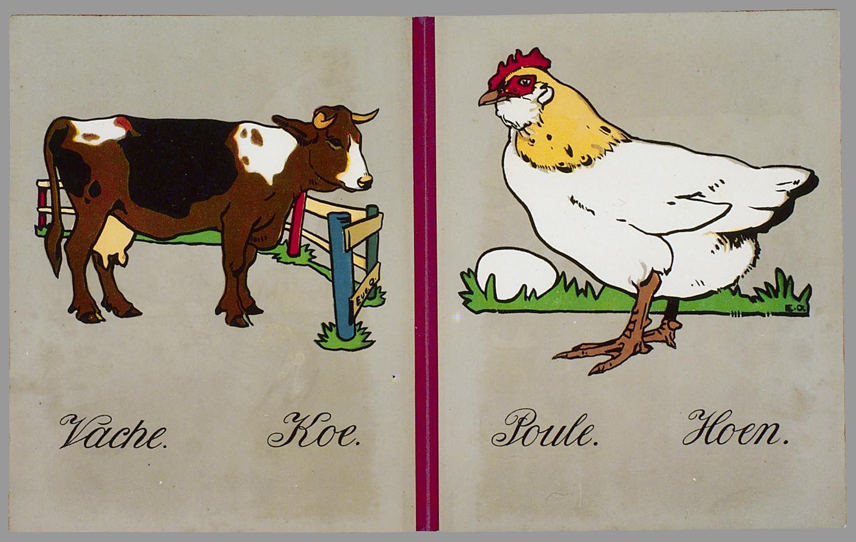Animaux = Dierenprenten, ca. 1920