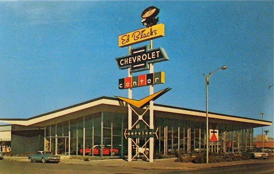 1963 Ed Black's Chevrolet Dealership, Albuquerque, New